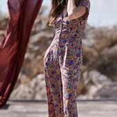 Cette jolie combi pantalon CLAIRE sera disponible dès lundi 💜 On à hâte!!! www.laureplusmax.com  #combi #nouvellecollection #ootd #mode #print #combinaison #laureplusmax #automne
